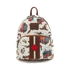 Loungefly Harry Potter Tattoo All Over Print Mini Backpack