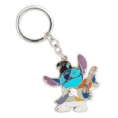 Loungefly Lilo And Stitch Elvis Metal Keychain