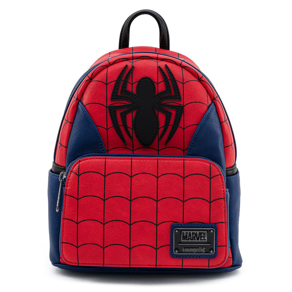 Loungefly Marvel Spiderman Classic Cosplay Mini Backpack