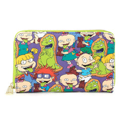 Loungefly Nickelodeon Rugrats Reptar Bar Zip Around Wallet