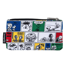 Loungefly Peanuts Comic Strip Nylon Pouch