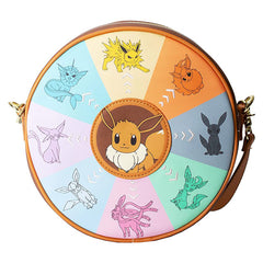 Loungefly Pokemon Eevee Evolutions Canteen Crossbody Bag Purse