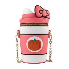 Loungefly Sanrio Hello Kitty Pumpkin Spice Crossbody Bag Purse