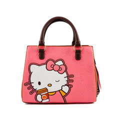 Loungefly Sanrio Hello Kitty Pumpkin Spice Latte Wave Crossbody Bag Purse