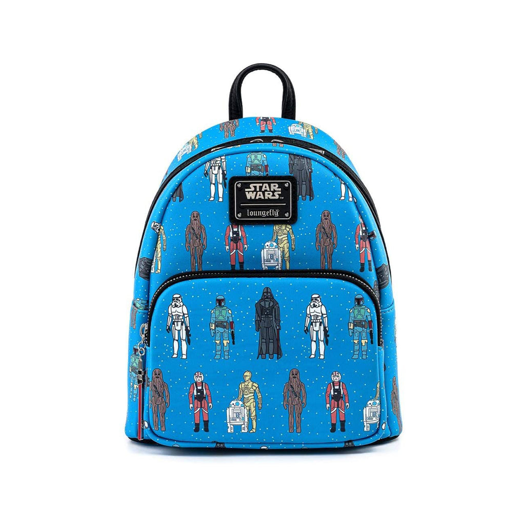 Loungefly Star Wars Action Figure Characters Mini Backpack