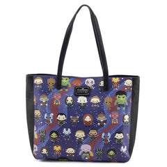 Purses - Loungefly Avengers Chibi All Over Print Tote Bag