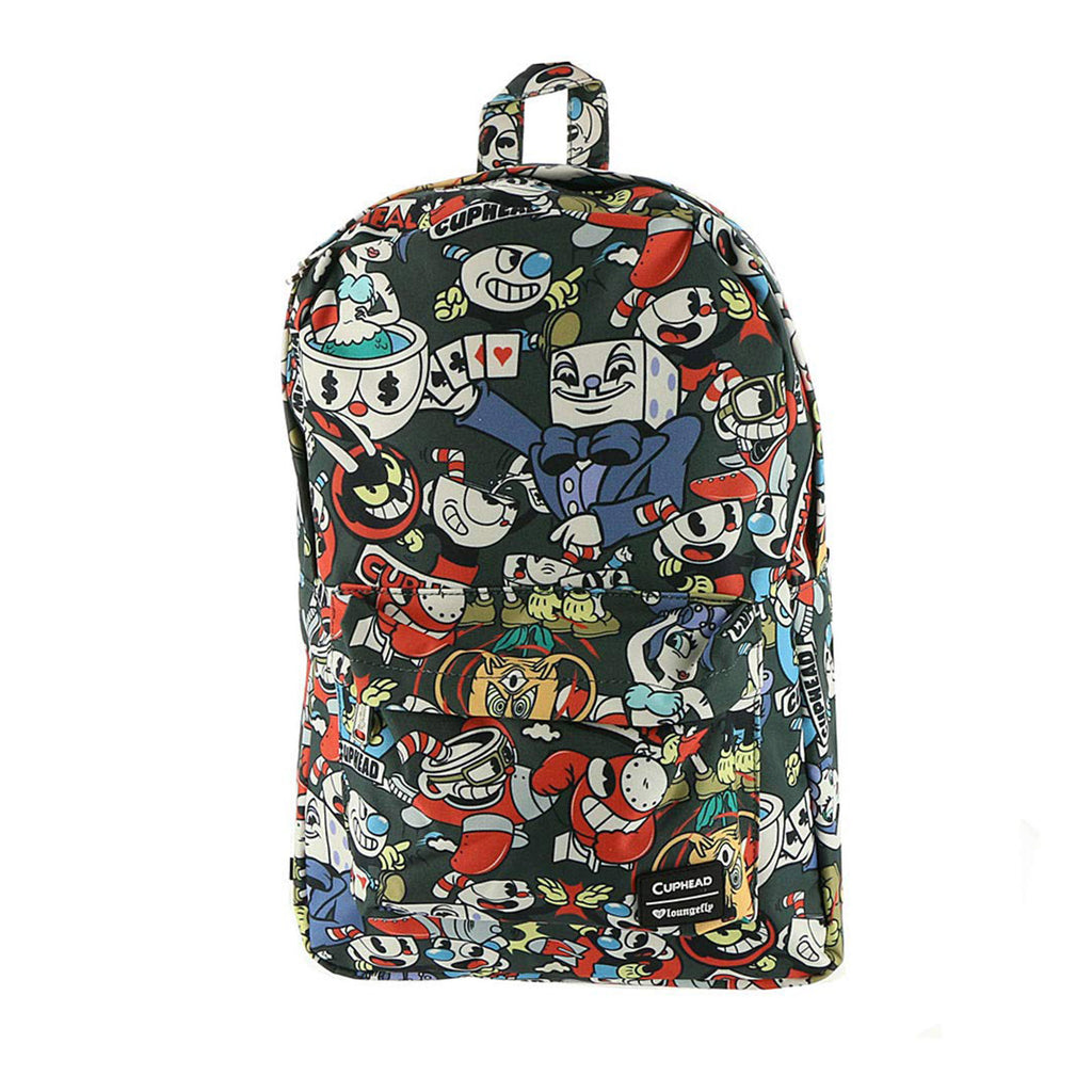 Loungefly Cuphead Character All Over Print Backpack