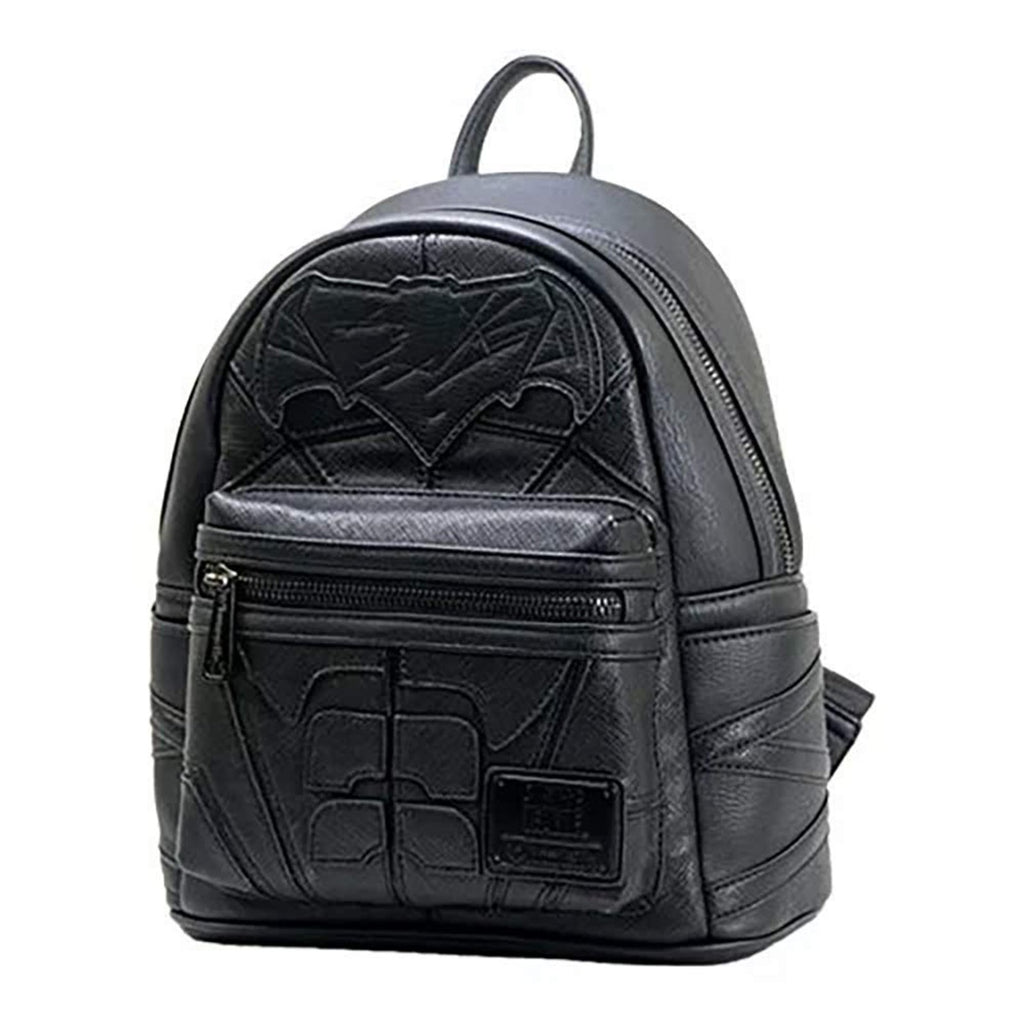 Loungefly DC Justice League Batman Black Mini Backpack
