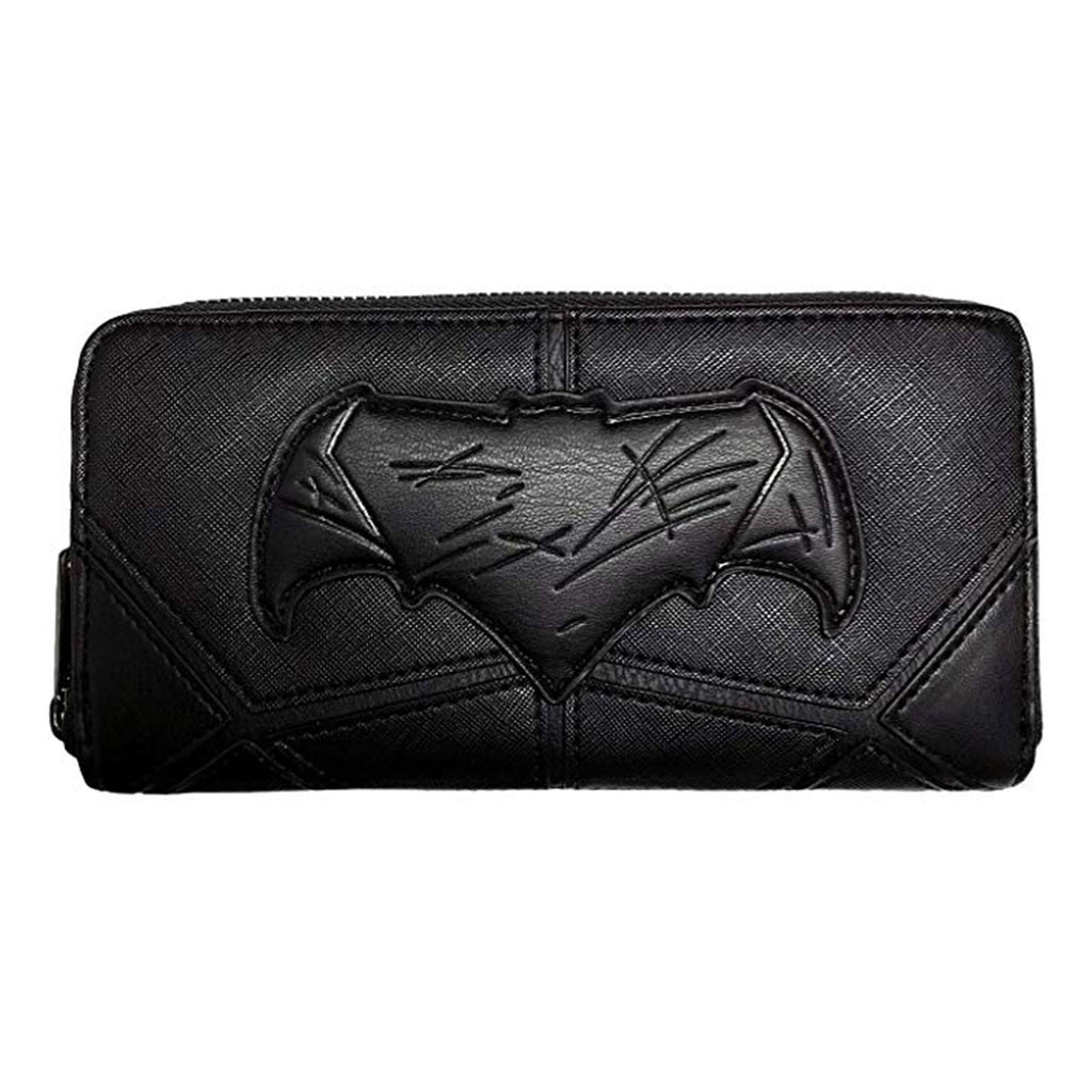 Loungefly DC Justice League Batman Black Zip Around Wallet