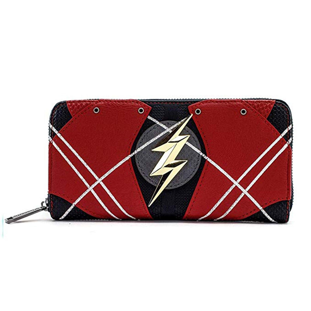 Loungefly DC Justice League The Flash Zip Around Wallet