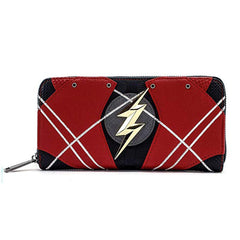 Wallets - Loungefly DC Justice League The Flash Zip Around Wallet