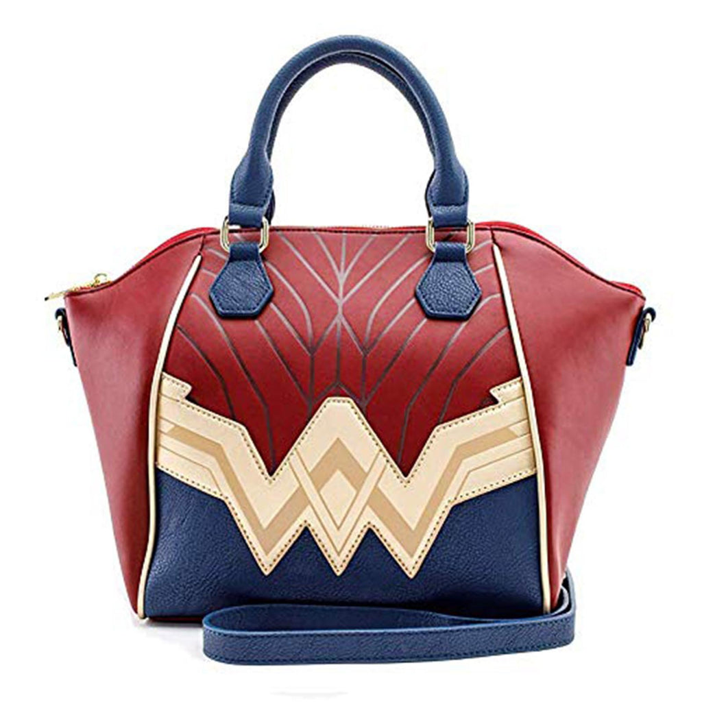 Loungefly DC Justice League Wonder Woman Logo Handbag Purse