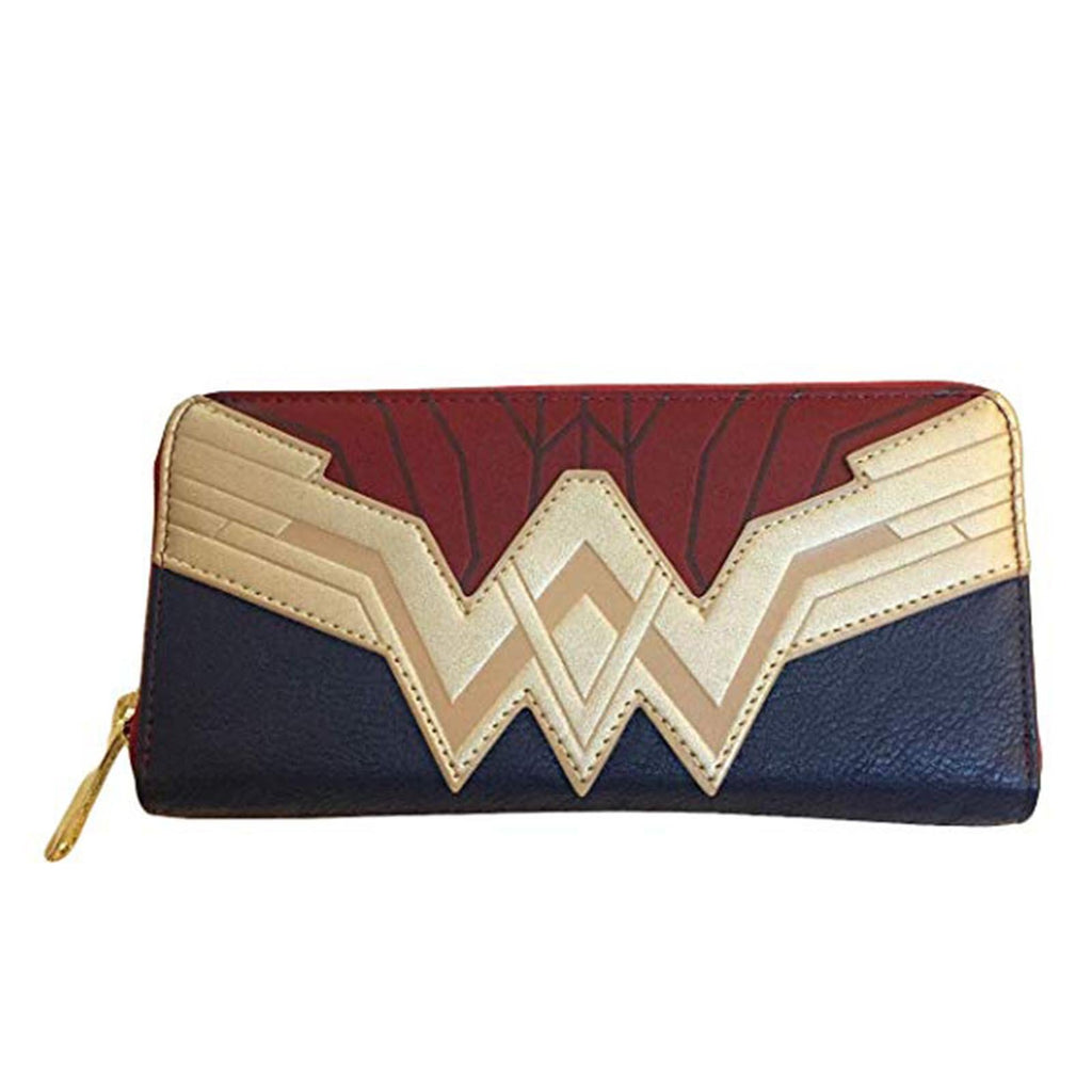 Loungefly DC Justice League Wonder Woman Zip Around Wallet