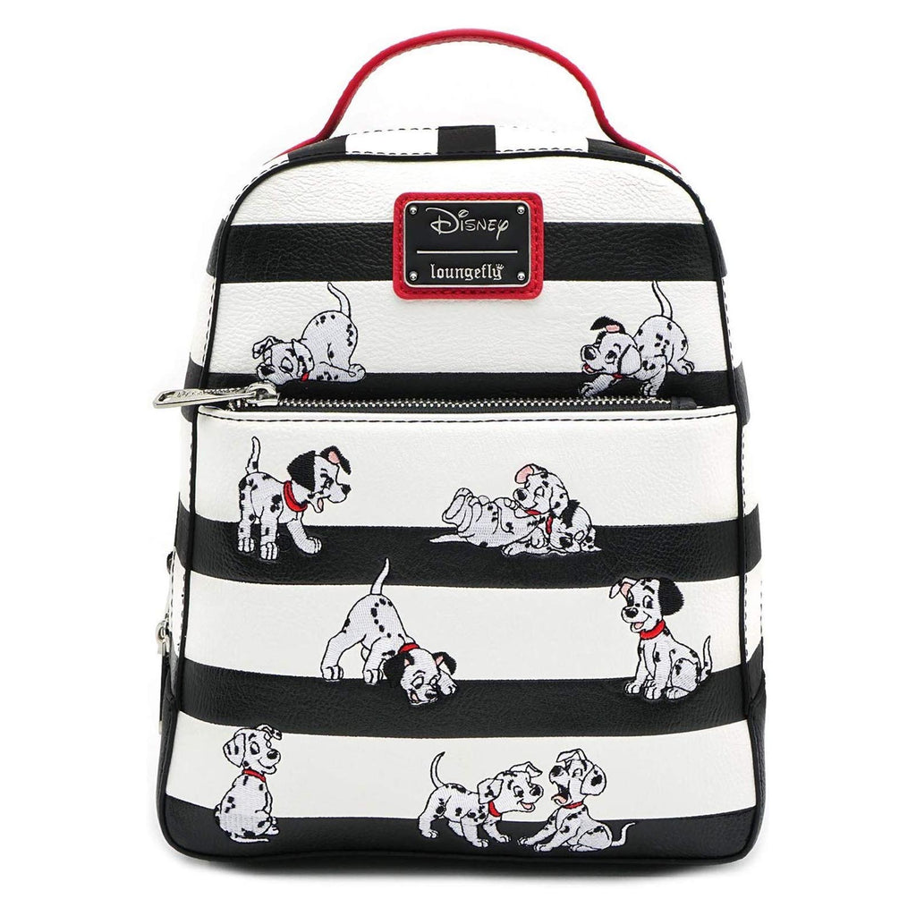 Loungefly Disney 101 Dalmatians Striped Mini Backpack