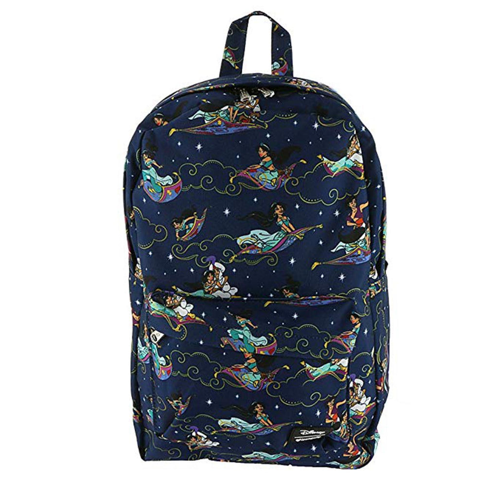 Loungefly Disney Aladdin Carpet Ride All Over Print Backpack