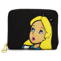 Wallets - Loungefly Disney Alice In Wonderland Surprised Zip Around Wallet