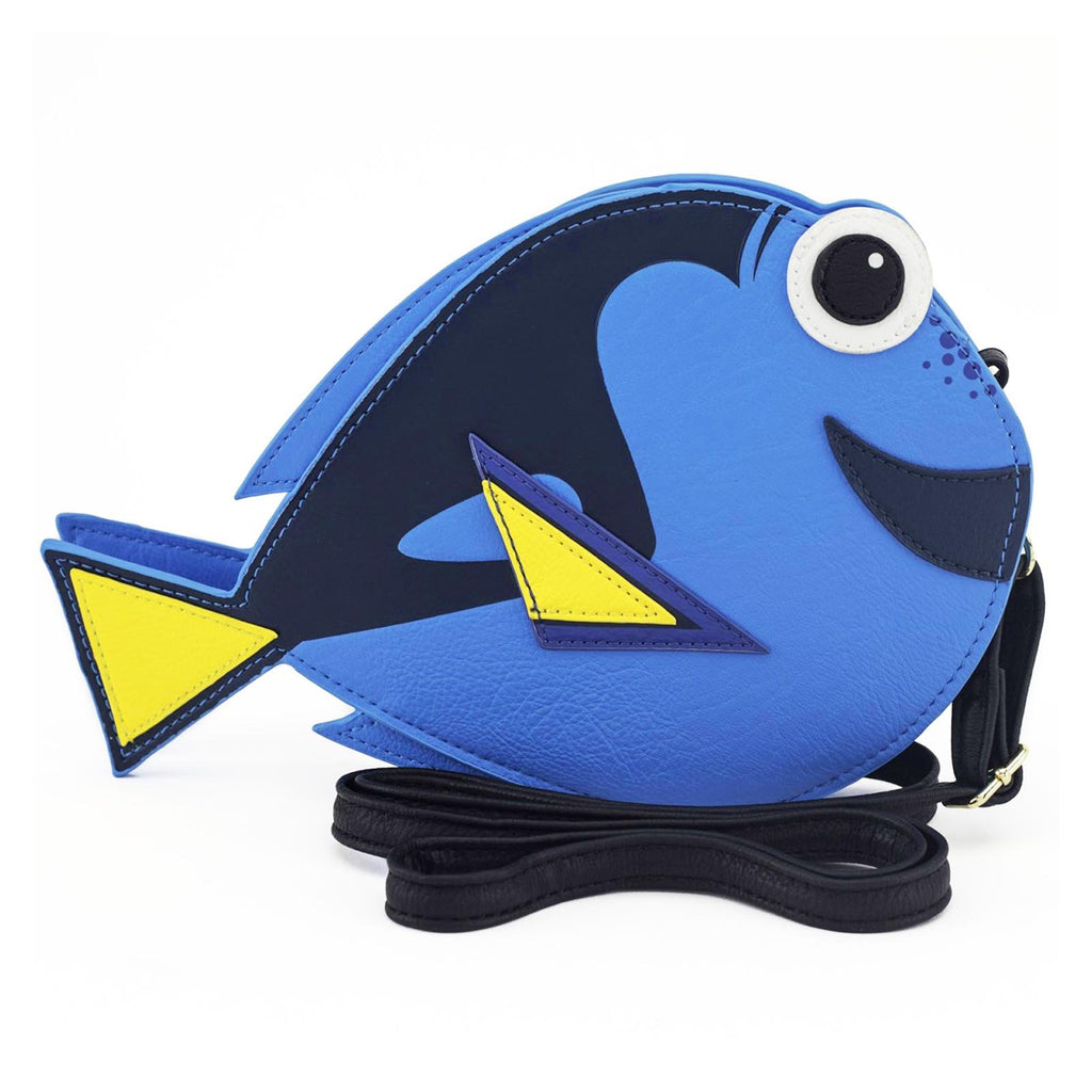 Loungefly Disney Finding Dory Body Shape Crossbody Bag Purse