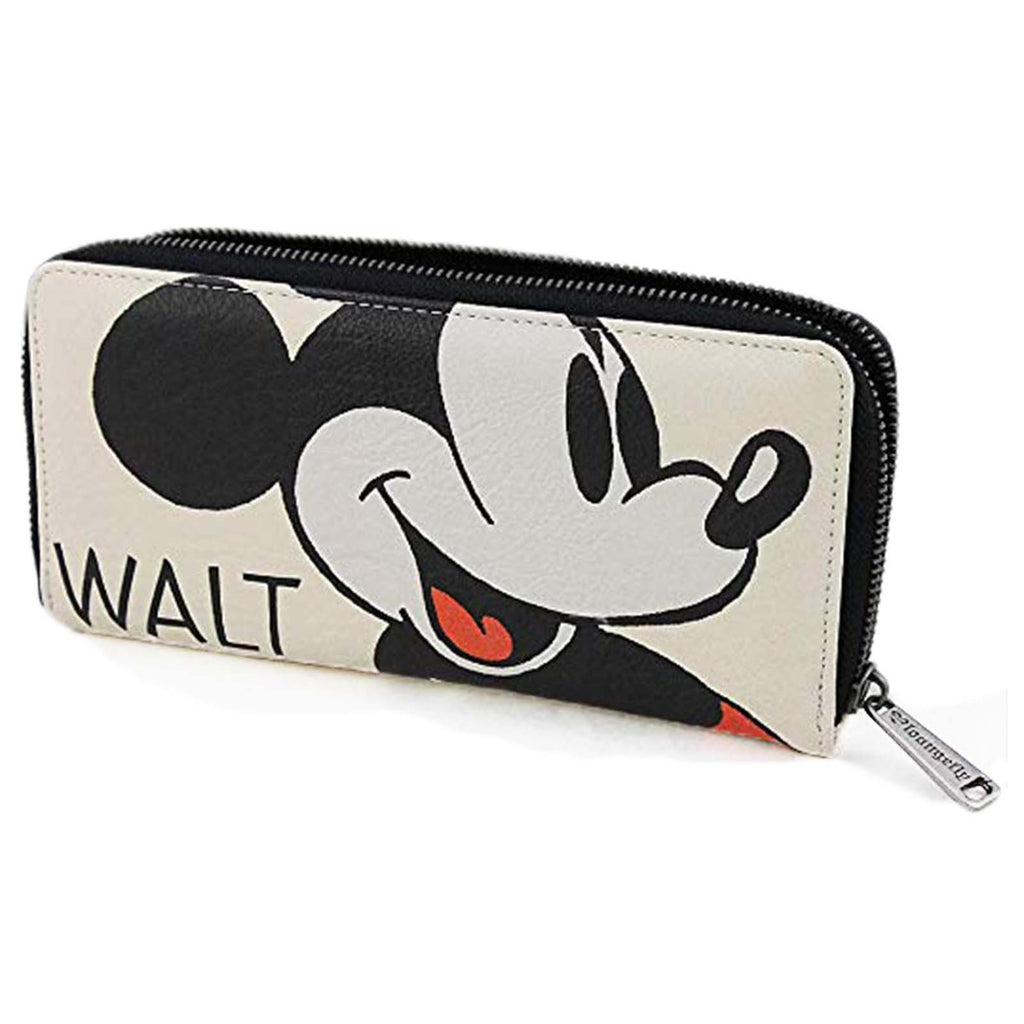 Loungefly Disney Mickey Mouse Classic Zip Around Wallet