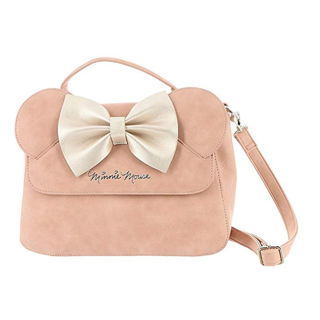 Loungefly Disney Minnie Mouse Ears Pink Crossbody Bag