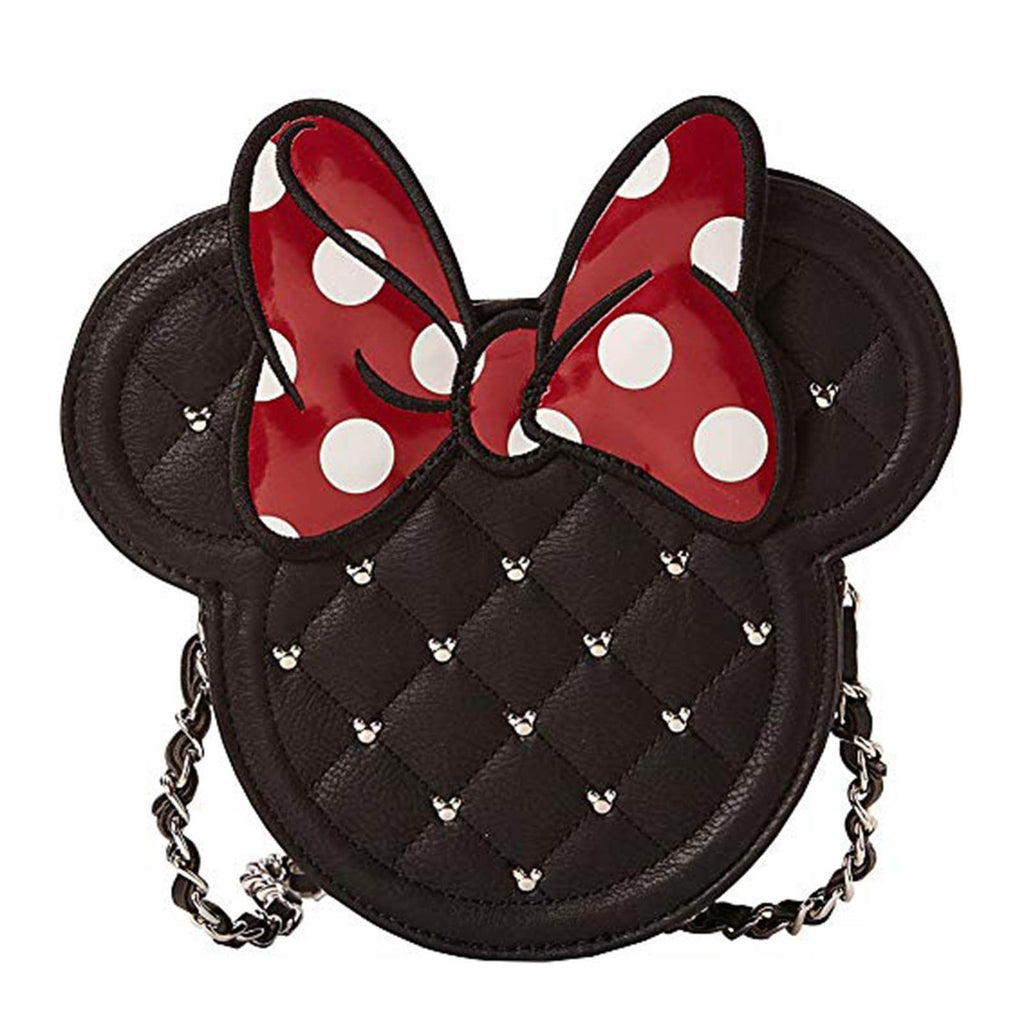 Loungefly Disney Minnie Mouse Quilted Bow Crossbody Bag