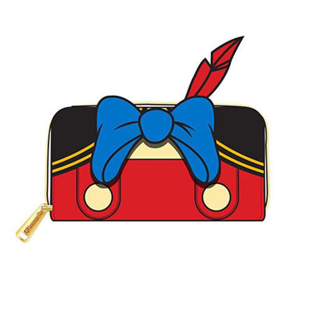 Loungefly Disney Pinocchio Outfit Zip Around Wallet
