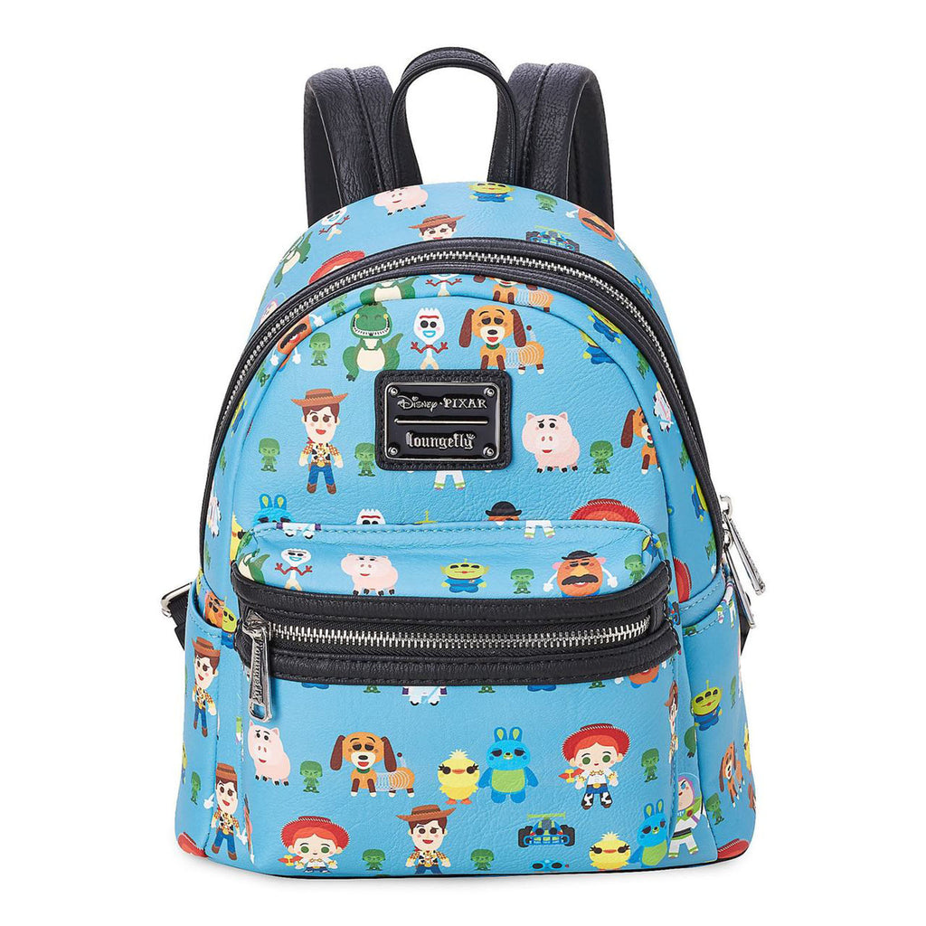 Loungefly Disney Toy Story Chibi All Over Print Mini Backpack