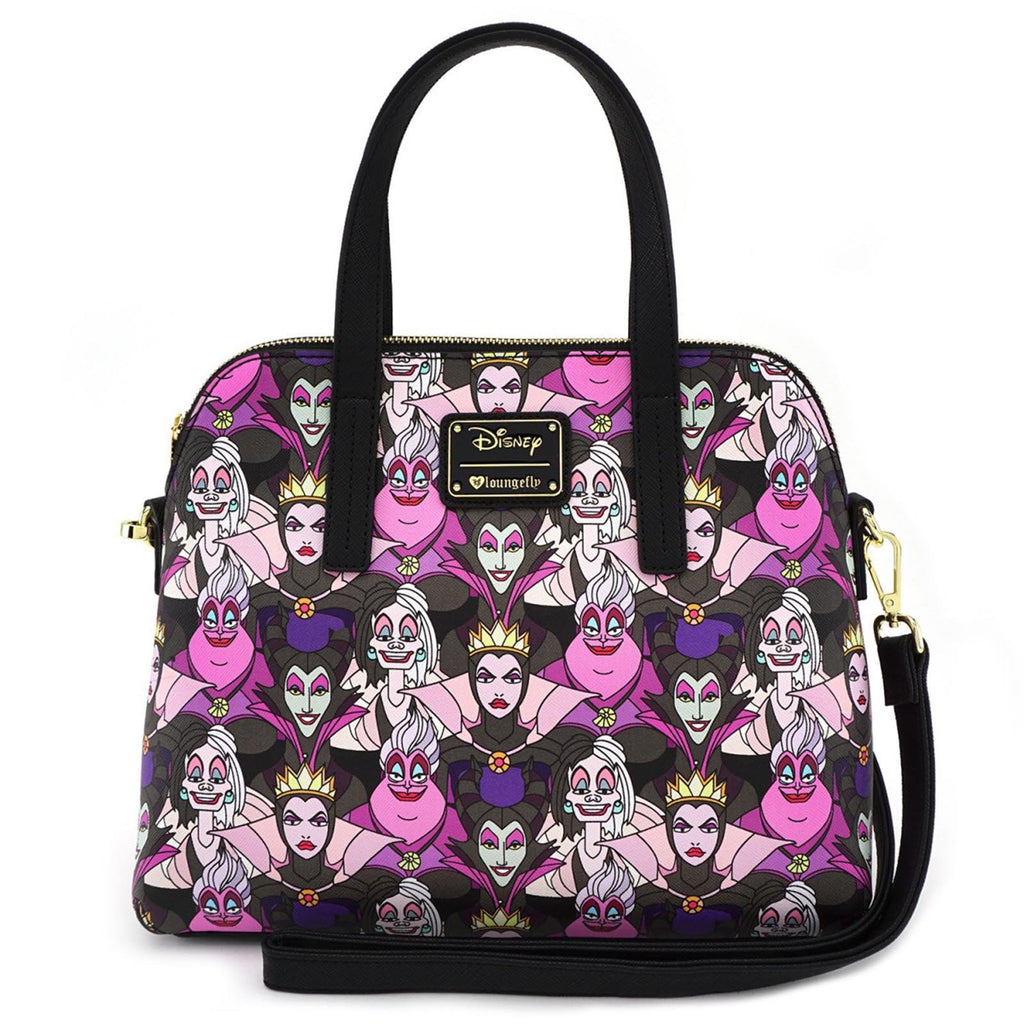 Loungefly Disney Villains All Over Print Bag Purse