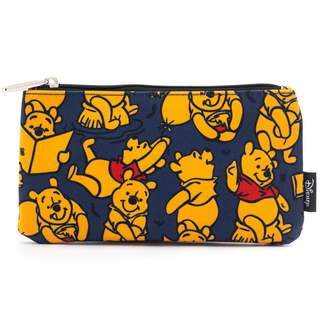 Loungefly Disney Winnie The Pooh All Over Print Zipper Pouch Bag