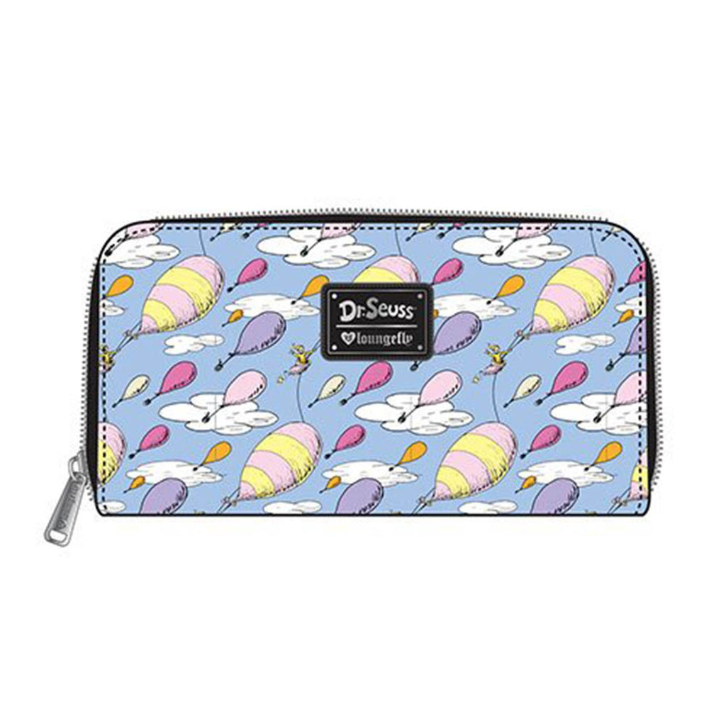 Loungefly Dr. Seuss Oh The Places You'll Go Zip Around Wallet