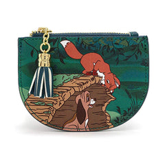 Loungefly Fox And The Hound Peek A Boo Log Cardholder ID Wallet