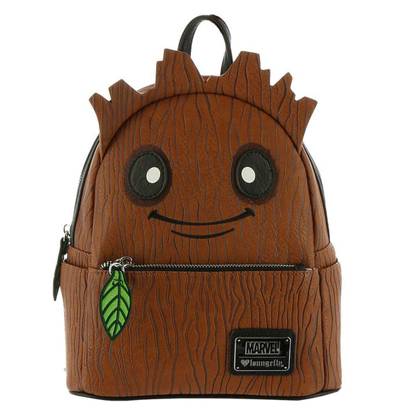 75e541f0df Loungefly Guardians Of The Galaxy Groot Mini Backpack