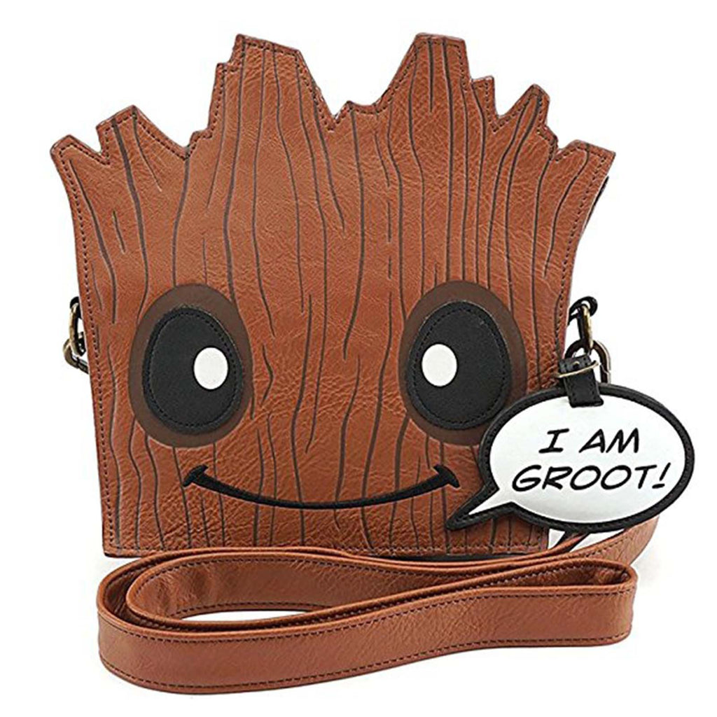 Purses - Loungefly Guardians Of The Galaxy Groot Shaped Crossbody Bag Purse