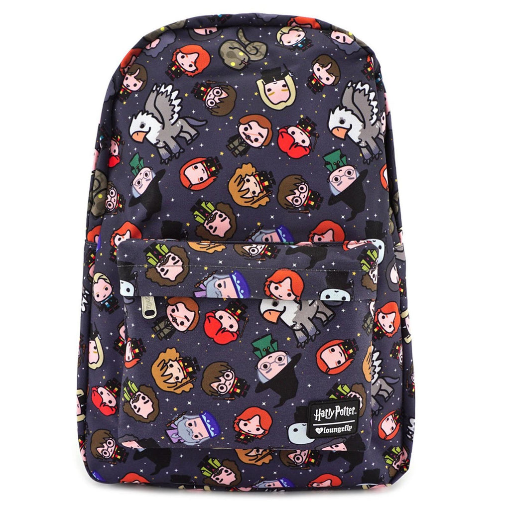 Loungefly Harry Potter Character All Over Print Backpack