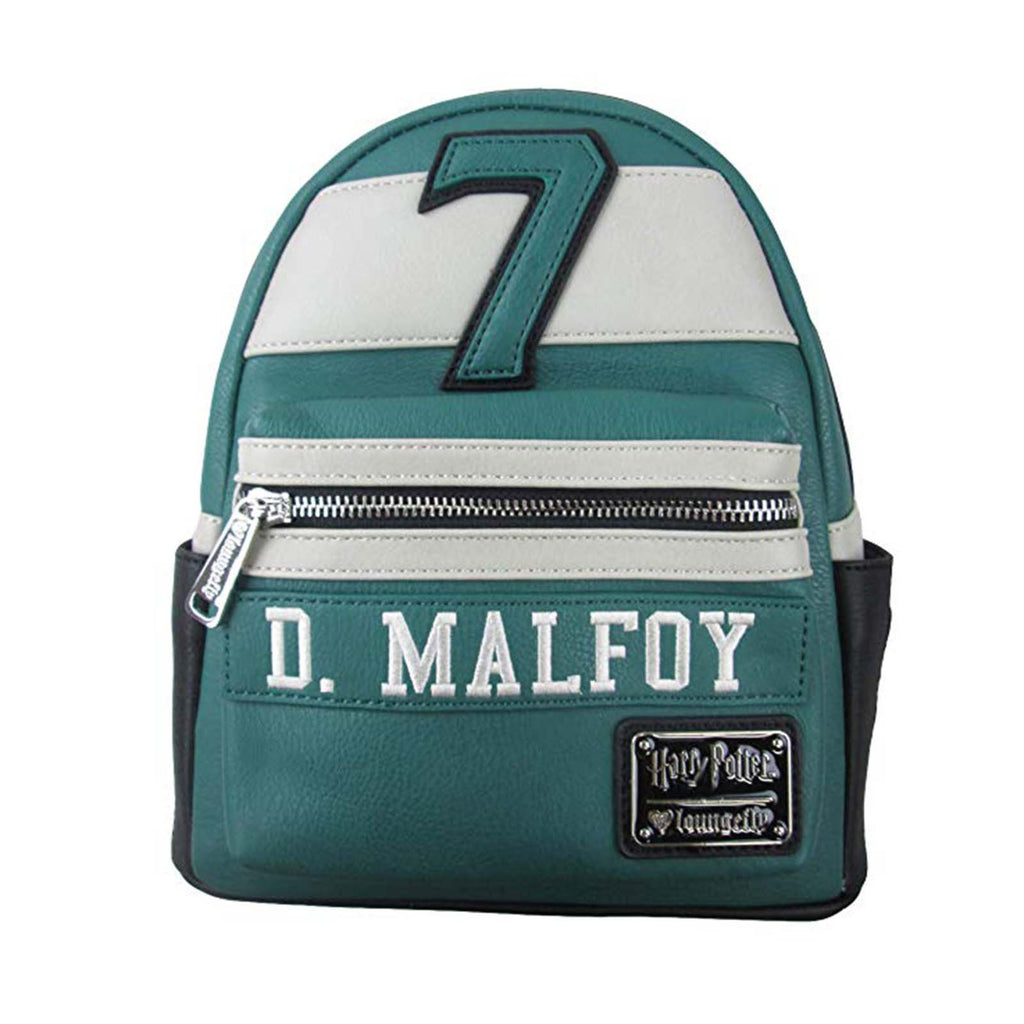 Loungefly Harry Potter D. Malfoy Green Mini Backpack