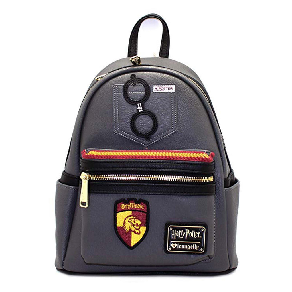Loungefly Harry Potter Gryffindor Grey Mini Backpack