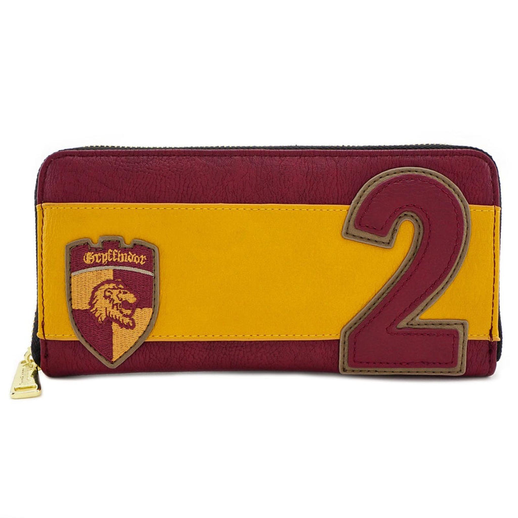Loungefly Harry Potter Ron Weasley Quidditch Zip Around Wallet