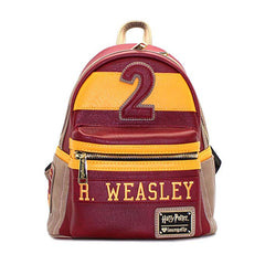 Purses - Loungefly Harry Potter Ron Weasley Red Brown Mini Backpack