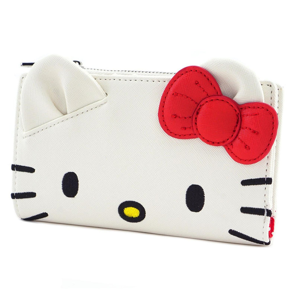 Loungefly Hello Kitty White Face Bi-Fold Wallet