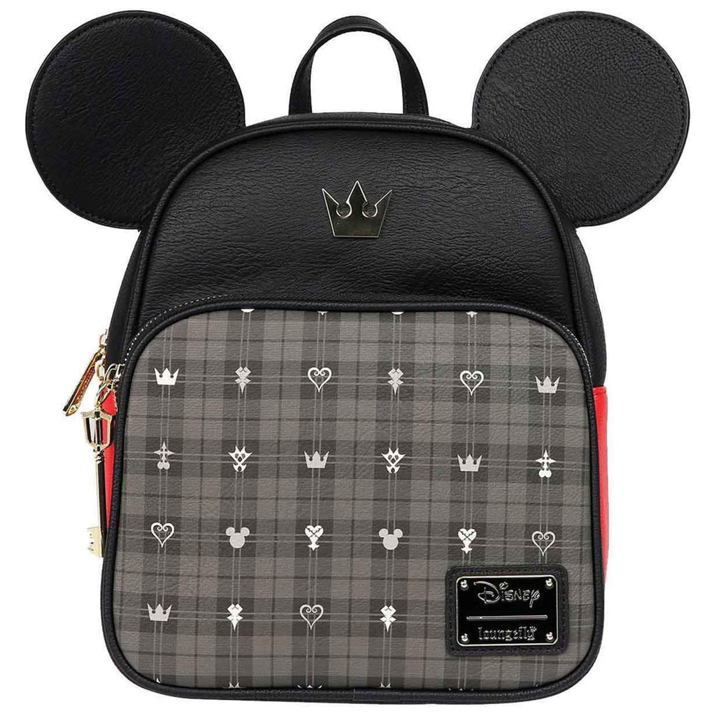 Loungefly Kingdom Hearts Mickey Convertible Mini Backpack