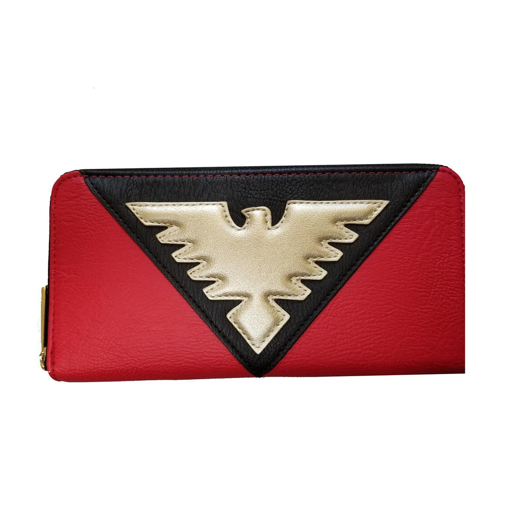Loungefly Marvel Dark Phoenix Suit Zip Around Wallet