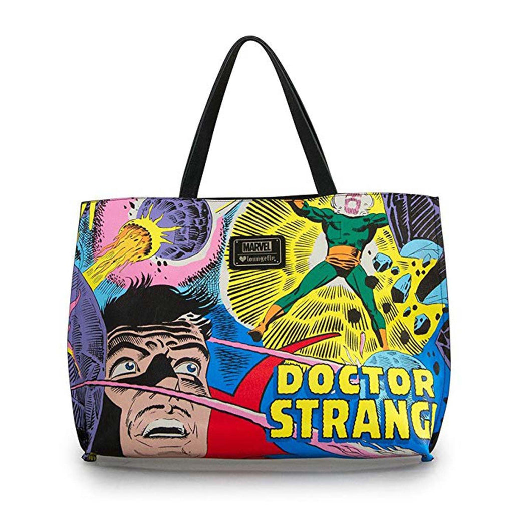 Purses - Loungefly Marvel Doctor Strange All Over Print Bag Tote