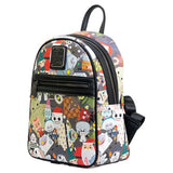 Purses - Loungefly Nightmare Before Christmas Chibi Characters Mini Backpack