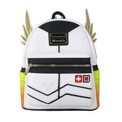Purses - Loungefly Overwatch Mercy Yellow Orange Mini Backpack