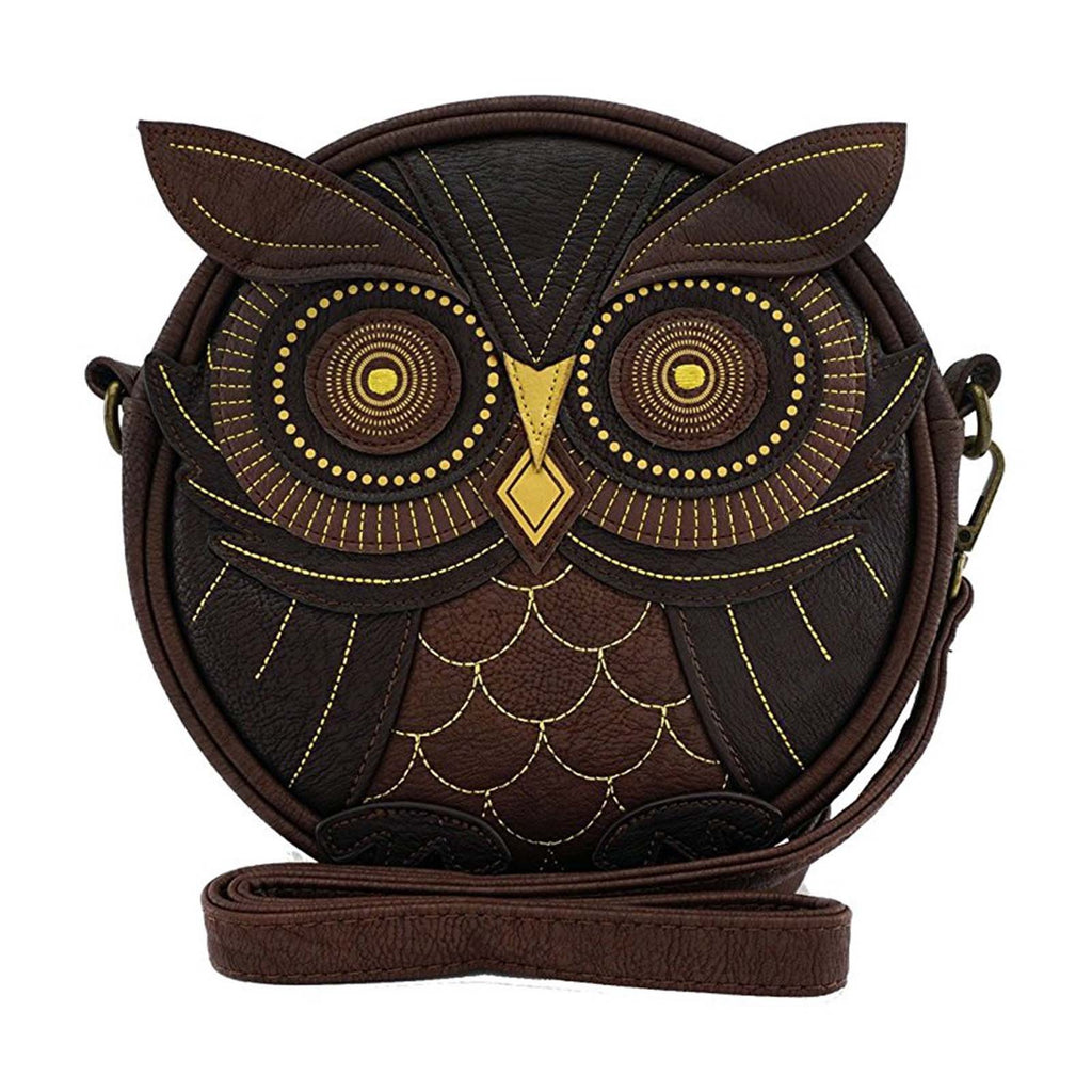 Loungefly Owl Brown Crossbody Bag Purse