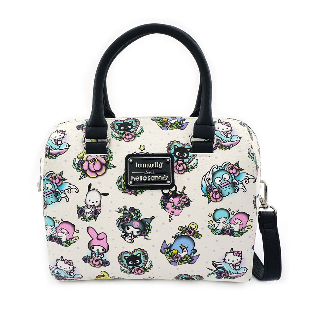Loungefly Sanrio Hello Kitty Character Tattoo Duffle Bag Purse
