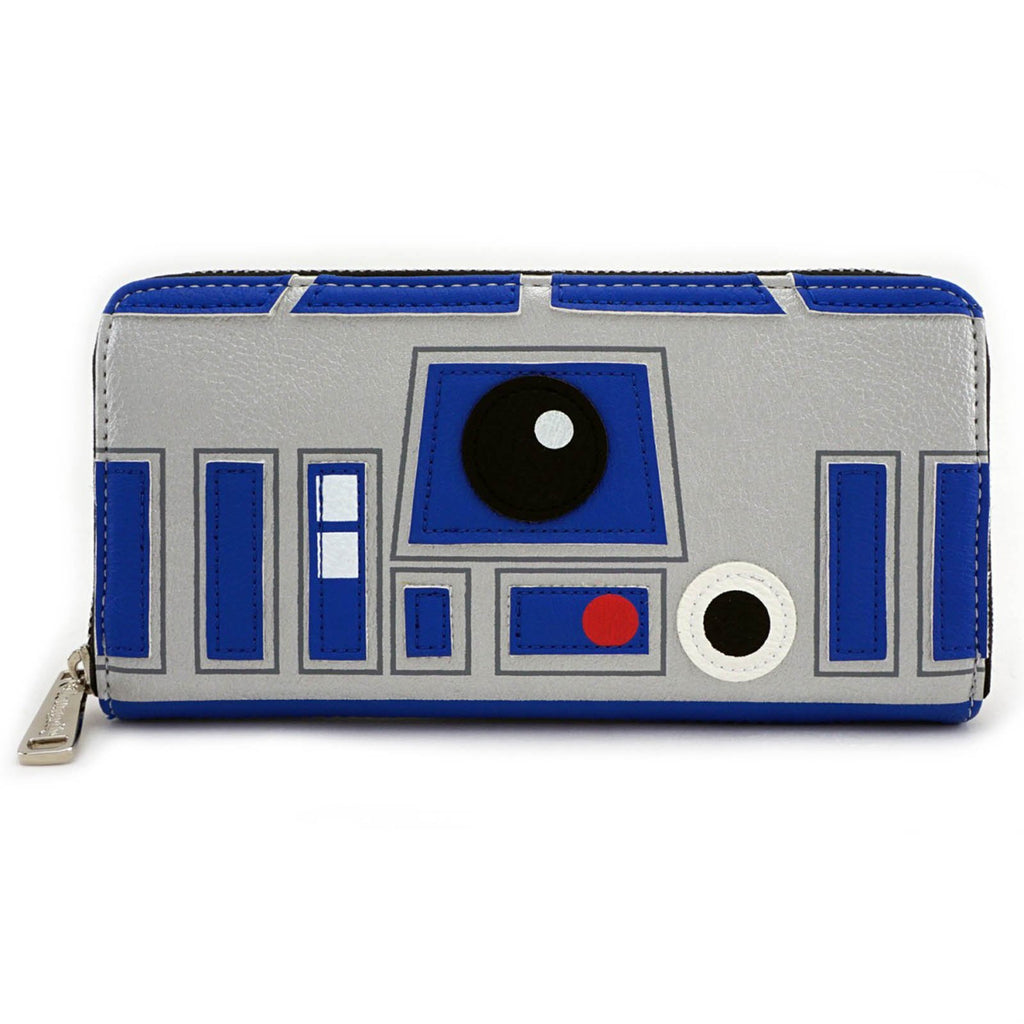 Loungefly Star Wars 2 Sided R2-D2 BB8 Zip Around Wallet