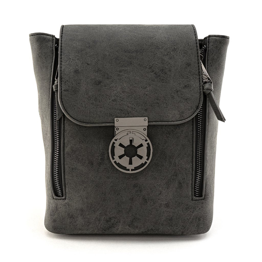 Loungefly Star Wars Black Metal Closure Convertible Backpack