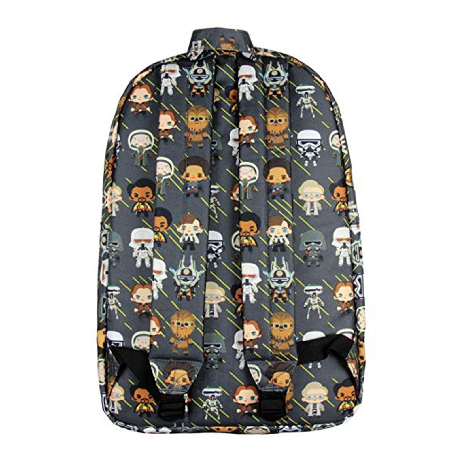 3f416257fc5 Loungefly Star Wars Character All Over Print Chibi Backpack