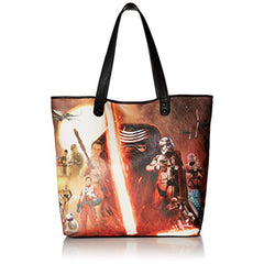 Purses - Loungefly Star Wars Force Awakens Movie Poster Photo Tote Bag