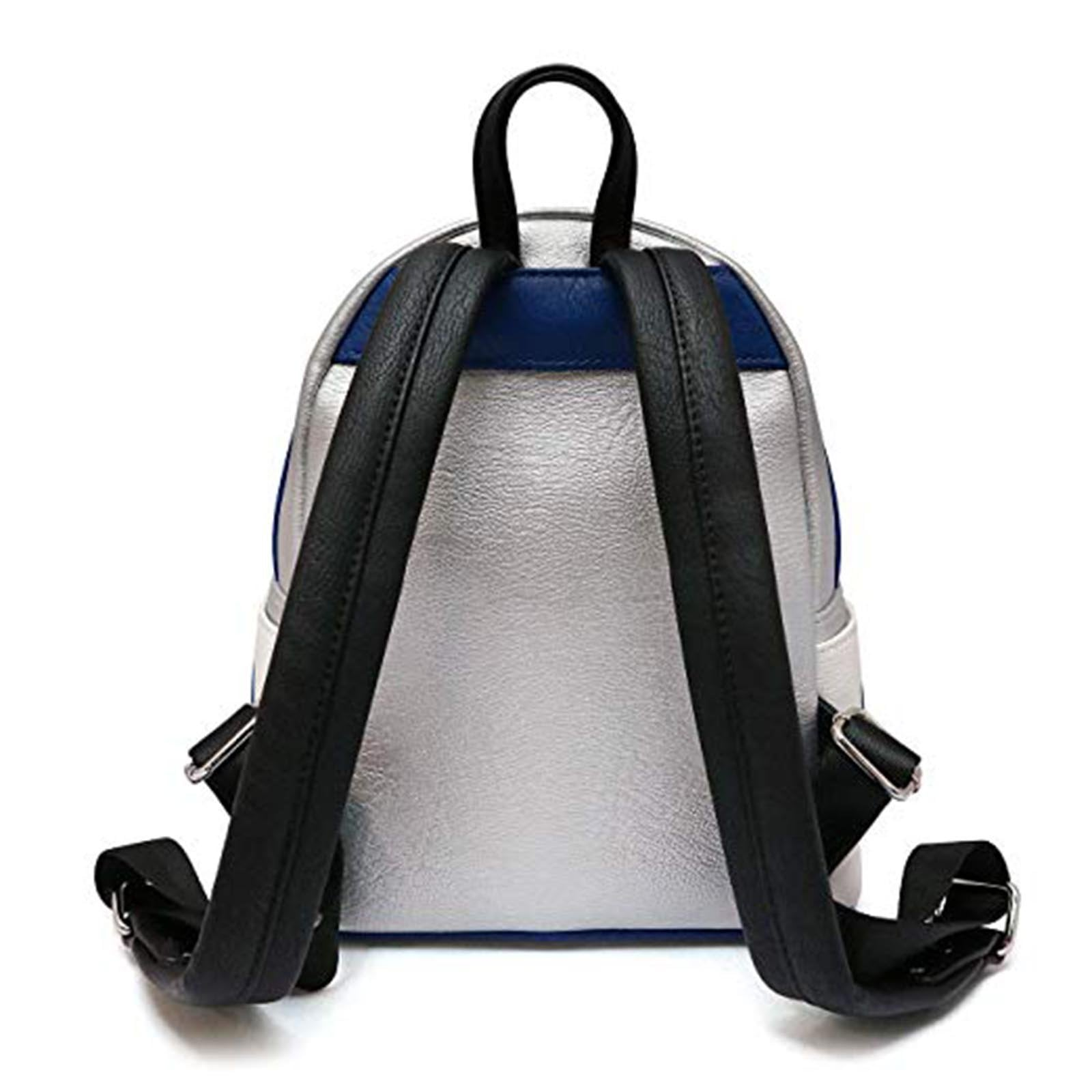 c29ab27e107 Loungefly Star Wars R2-D2 Applique Mini Backpack